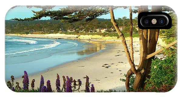 Afternoon On Carmel Beach IPhone Case