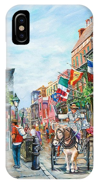 French Artist iPhone Case - Afternoon On St. Ann by Dianne Parks