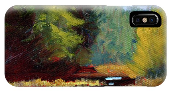 Afternoon On The River IPhone Case