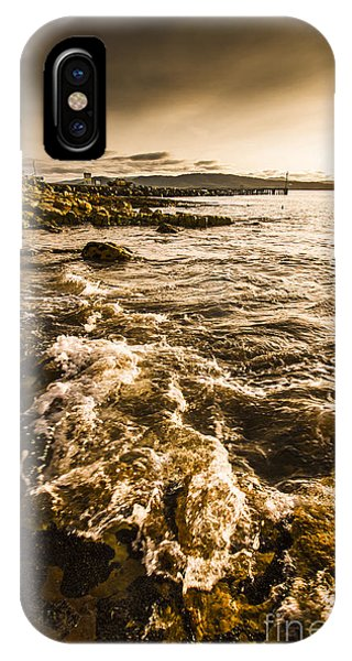 Afternoon Rocky Coast  IPhone Case