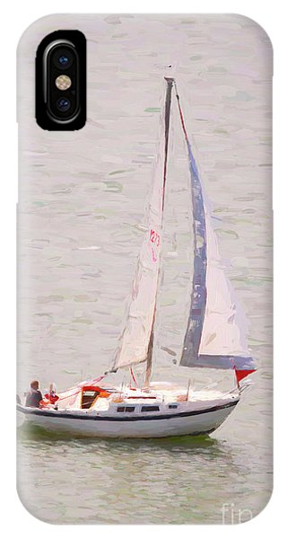 IPhone Case featuring the photograph Afternoon Sail by James BO Insogna