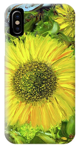 Afternoon Sunflowers IPhone Case
