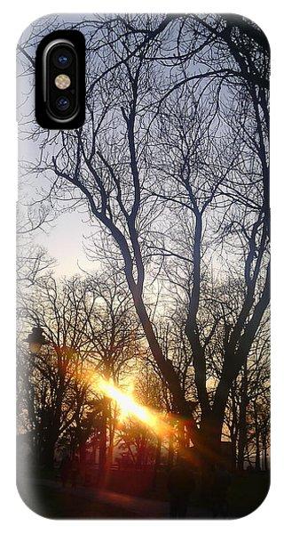 Afternoon Sunlight In Belgrade Kelemegdan Park Phone Case by Anamarija Marinovic