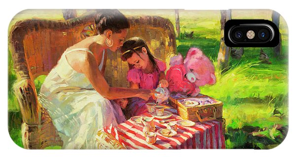 Ceremony iPhone Case - Afternoon Tea Party by Steve Henderson
