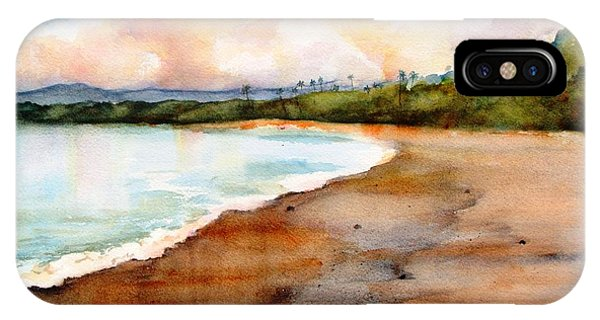 Aganoa Beach Savai'i IPhone Case