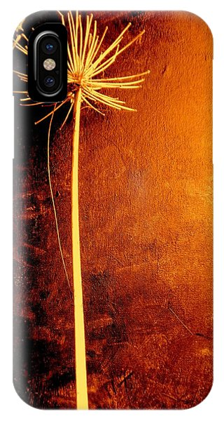 Agapanthus After The Storm IPhone Case