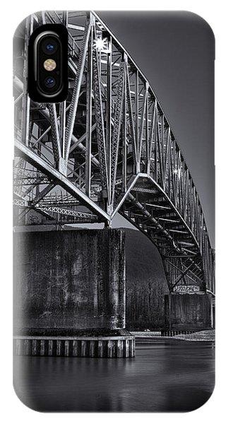Agassiz-rosedale Bridge IPhone Case