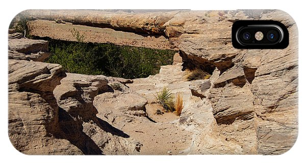Agate Bridge - Petrified Forest National Park IPhone Case