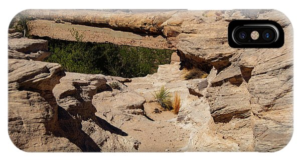 Agate Bridge - Petrified Forest National Park IPhone Case