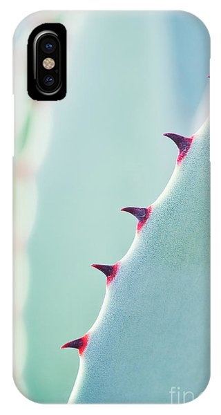 Succulent iPhone Case - Agave Parryi Abstract by Tim Gainey