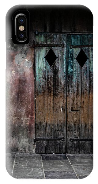 Aged And Erie Door IPhone Case