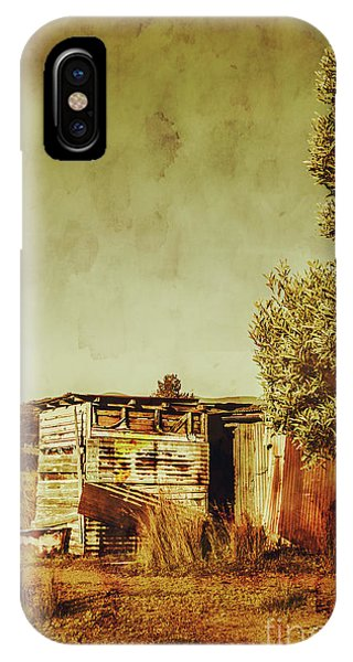 Rural iPhone Case - Aged Australia Countryside Scene by Jorgo Photography - Wall Art Gallery