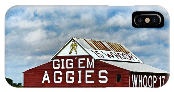 Aggie iPhone Case - Aggie Barn by Stephen Stookey