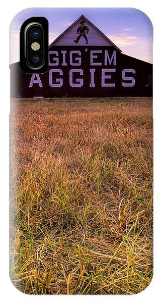 Aggie iPhone Case - Aggie Land by Jonathan Davison