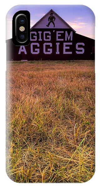 Aggie Land IPhone Case