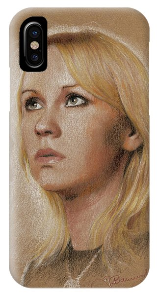 IPhone Case featuring the photograph Agnetha by Jaroslaw Blaminsky