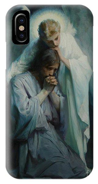 Messiah iPhone Case - Agony In The Garden  by Frans Schwartz