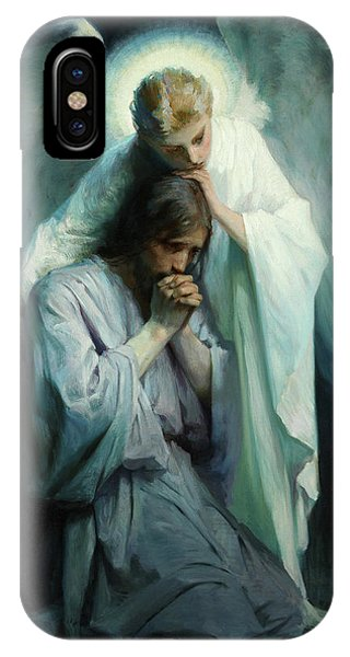 Messiah iPhone Case - Agony In The Garden by Schwartz Frans