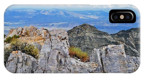 Aguereberry Point Rocks IPhone Case