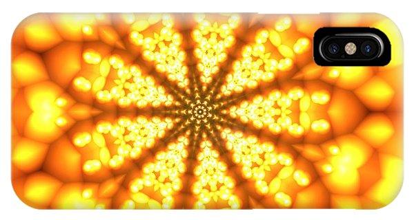 IPhone Case featuring the digital art Ahau 9 by Robert Thalmeier