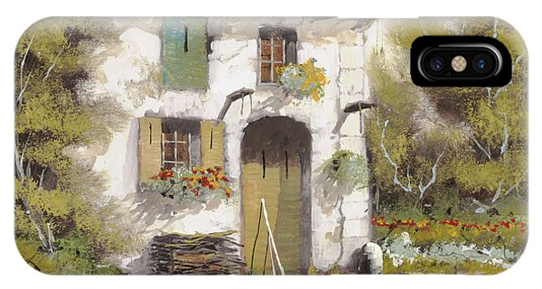 Old Houses iPhone Case - AIA by Guido Borelli