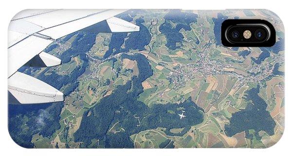 Air Berlin Over Switzerland IPhone Case