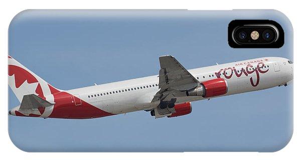 Air Canada Rouge IPhone Case