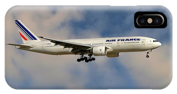 French iPhone Case - Air France Boeing 777-228 by Smart Aviation