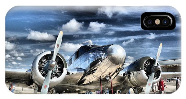 Airplane iPhone Case - Air Hdr by Arthur Herold Jr