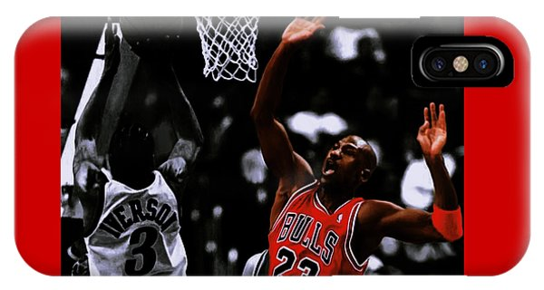 Air Jordan And Allen Iverson IPhone Case