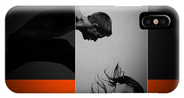 Romantic iPhone Case - Air Kiss by Naxart Studio