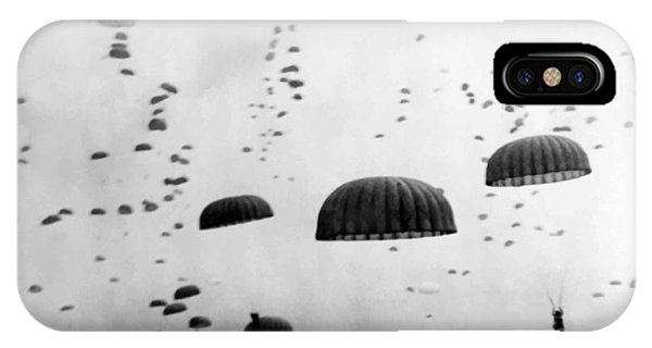 Airborne Mission During Ww2  IPhone Case