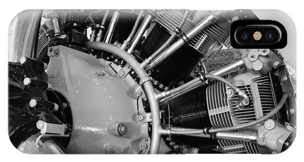 Aircraft Engine Phone Case by Ludwig Keck