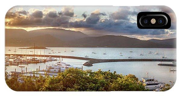 Barrier Reef iPhone Case - Airlie Beach Marina by Az Jackson
