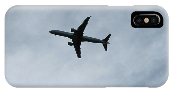 Airplane Silhouette IPhone Case