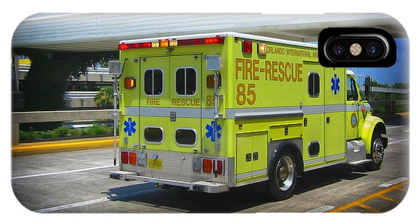 Airport Ambulance IPhone Case