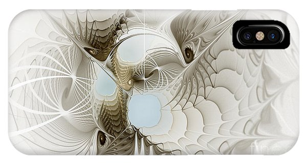 Airy iPhone Case - Airy Space2 by Karin Kuhlmann
