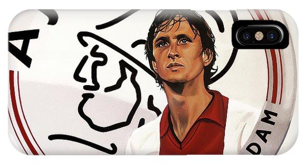 Or iPhone Case - Ajax Amsterdam Painting by Paul Meijering