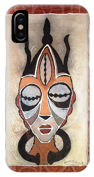 Aje Mask IPhone Case