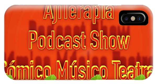 Ajiterapia Podcast IPhone Case