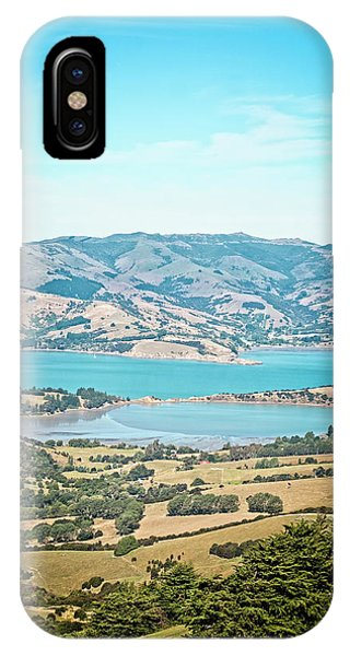 Grenn iPhone Case - Akaroa View by Catherine Reading