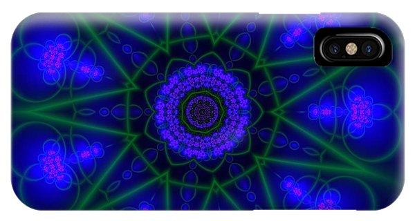 IPhone Case featuring the digital art Akbal 9 Beats by Robert Thalmeier