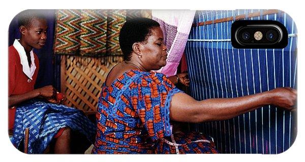 Akwete Weaving IPhone Case