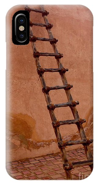 IPhone Case featuring the photograph Al Ain Ladder by Barbara Von Pagel