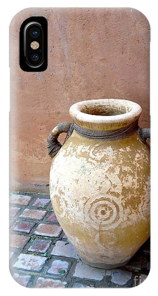 IPhone Case featuring the photograph Al Ain Urn by Barbara Von Pagel