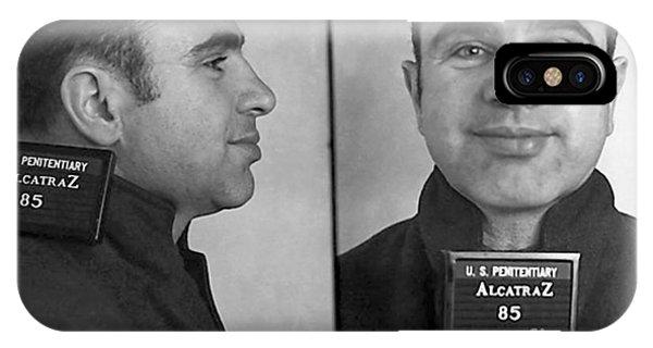 Al Capone Alcatraz Mugshot IPhone Case