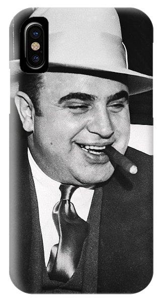 Al Capone Chicago Prohibition Crime Boss IPhone Case