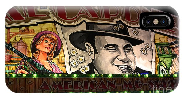 Al Capone On Funfair IPhone Case