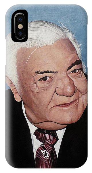 Elie Benyacar Aka Al Mucher IPhone Case