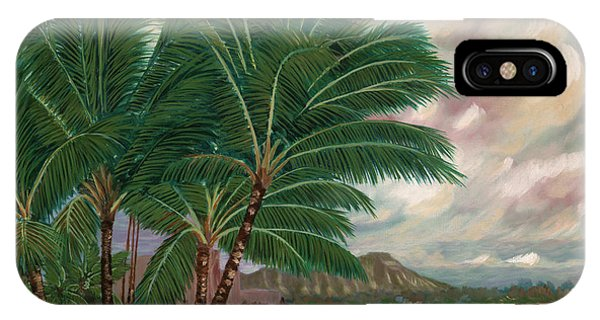 ala moana beach II IPhone Case
